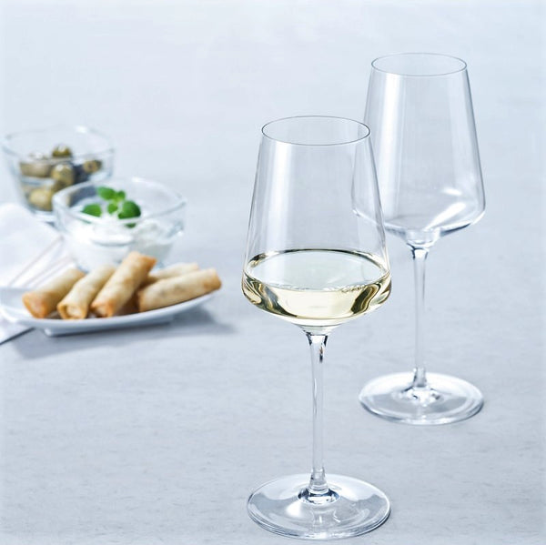 Puccini Riesling Wine Glasses, Set of 6