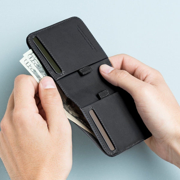 Wally Agent Wallet - Black RFID