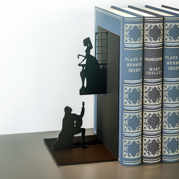 Metallic Bookend - Romeo & Juliet