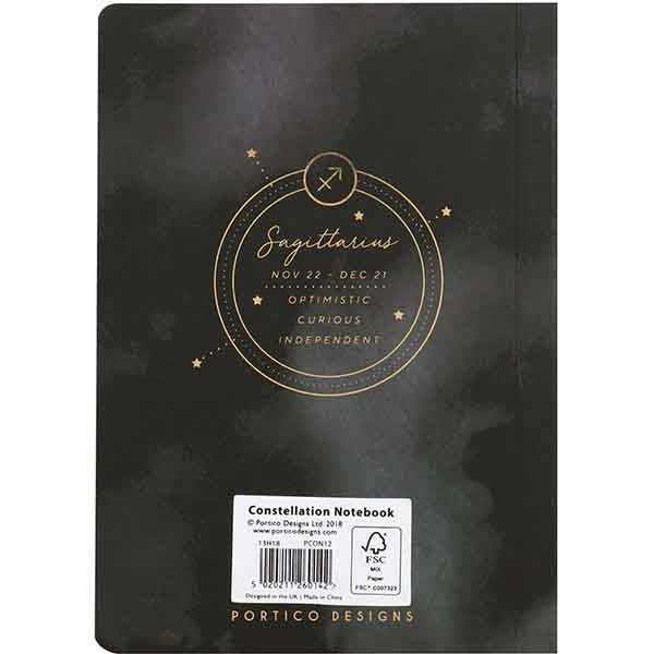 Constellations Mini Notebook - Sagittarius