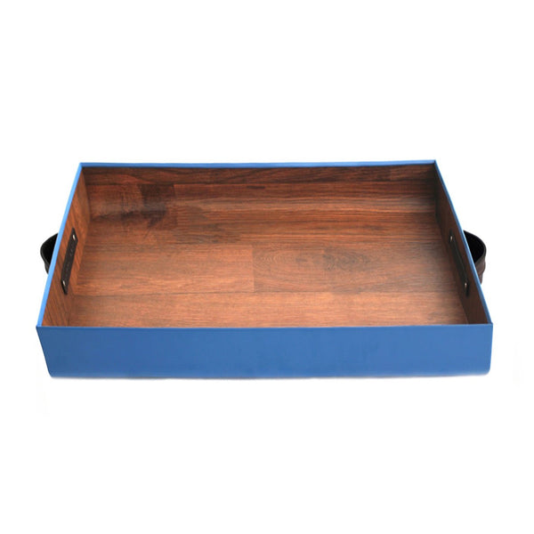 Small F Tray - Steel Blue