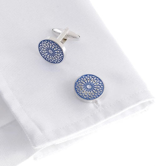 Wimbledon Cufflinks - Spanish Moonlight