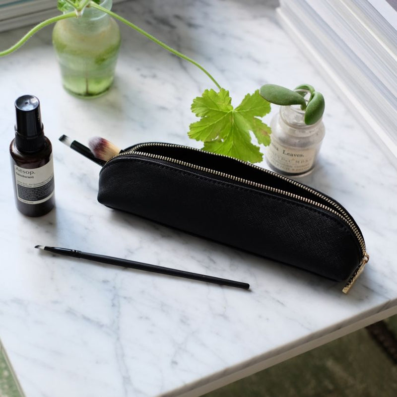 Travel Brush Pouch - Black