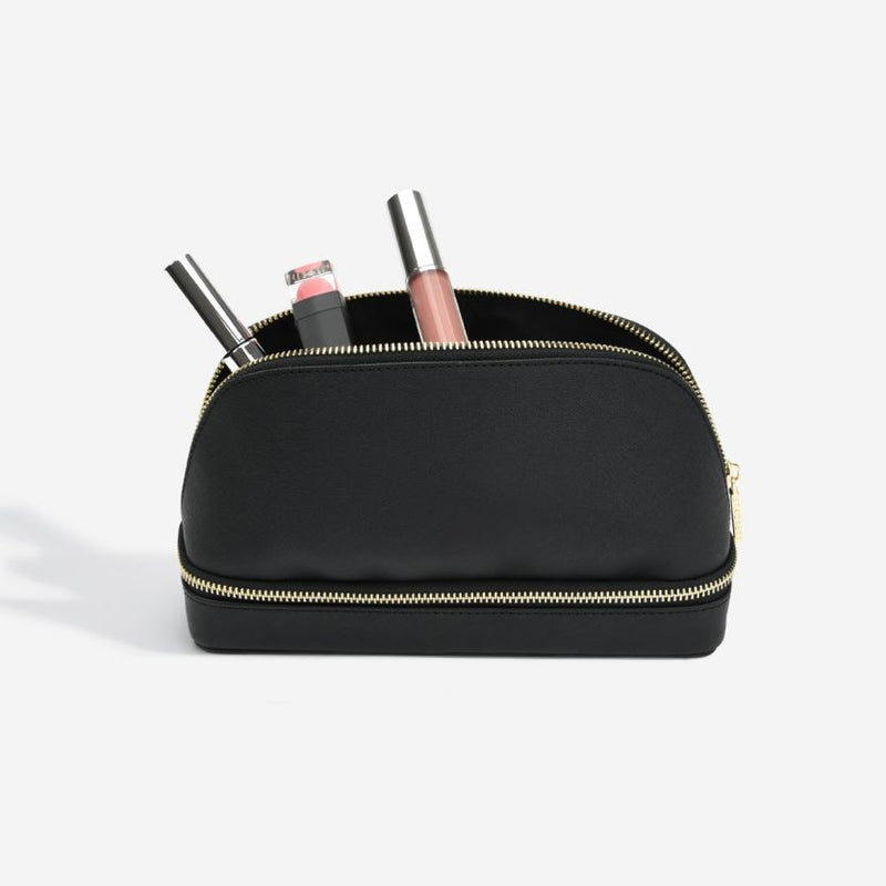 Travel Cosmetic Bag - Black