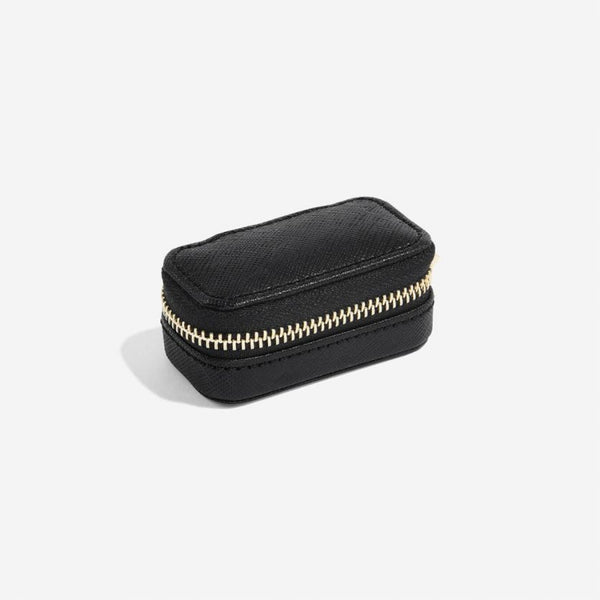 Travel Jewellery Pouch Small - Black