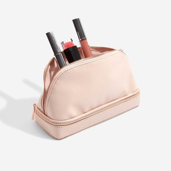 Travel Cosmetic Bag - Blush Pink