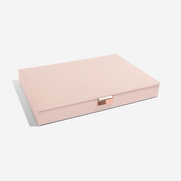 Jewellery Box with Lid Large - Blush Pink