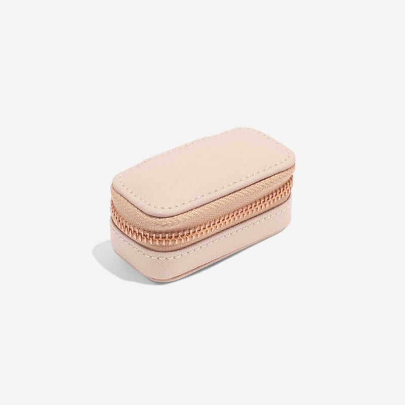 Travel Jewellery Pouch Small - Blush Pink