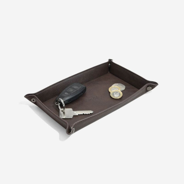 Catchall Desk Tray - Brown
