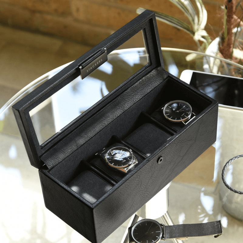 Watch Box 4-piece - Black