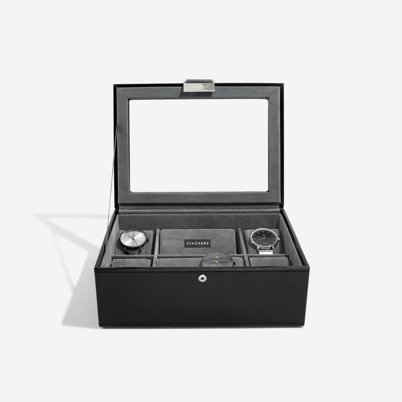 Watch Box 8-piece - Black