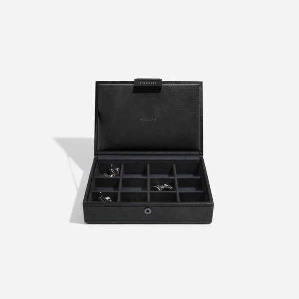 Cufflinks Storage Box - Black
