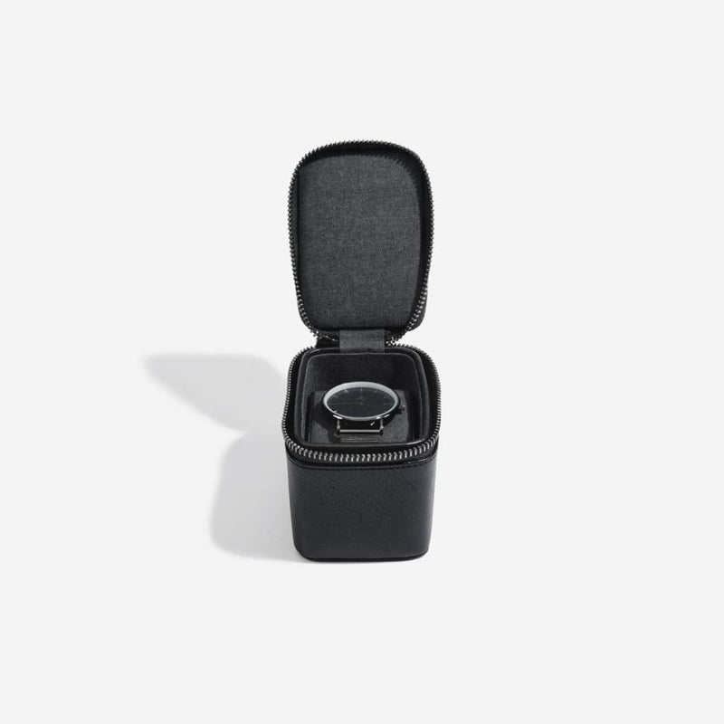 Travel Watch Case Single - Black