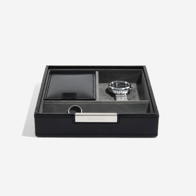 Sectional Valet Tray - Black