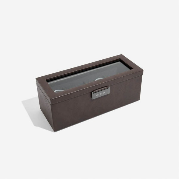 Watch Box 4-piece - Brown