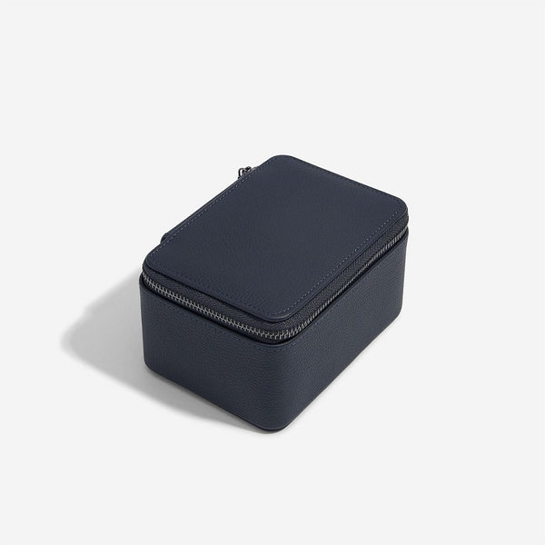 Travel Watch Case Double - Navy Blue
