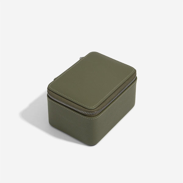 Travel Watch Case Double - Olive Green