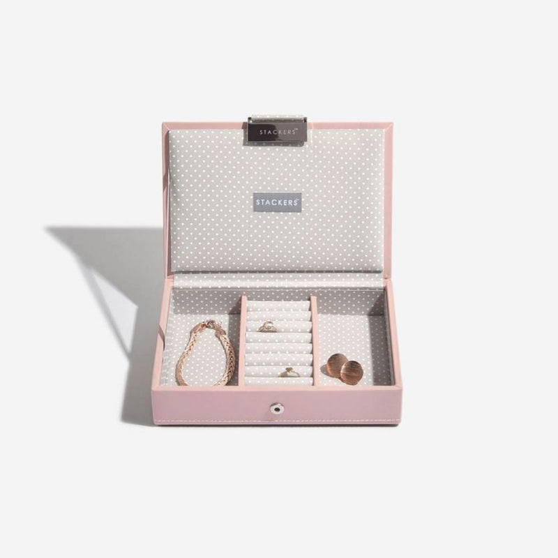 Jewellery Box with Lid Small - Soft Pink