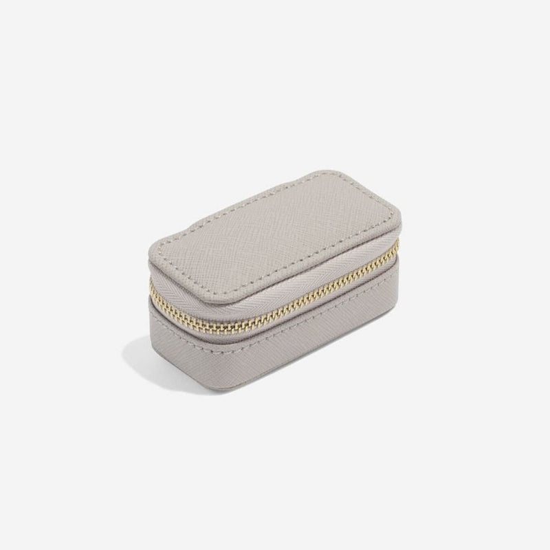 Travel Jewellery Pouch Small - Taupe