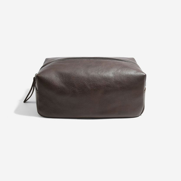 Travel Washbag Large - Brown