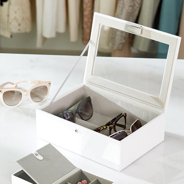 Sunglasses Case - White