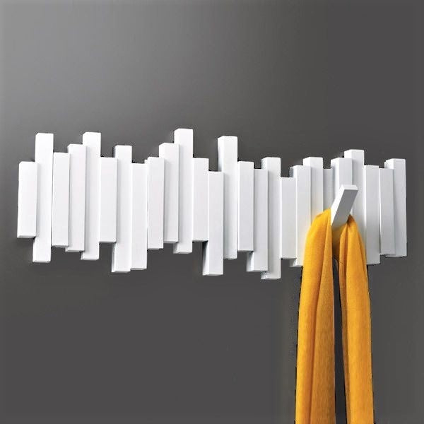 Sticks Multi Hook - White