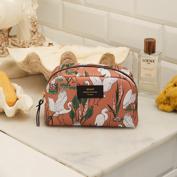 Sunset Lagoon Large Beauty Bag