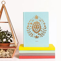 Leo Zodiac Mini Notebook
