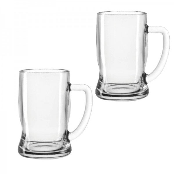Taverna Beer Mugs, Set of 2