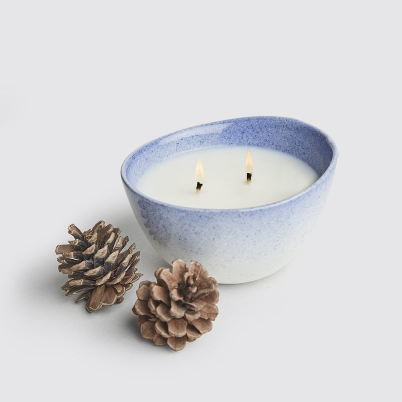 Source Bowl Candle - Indigo