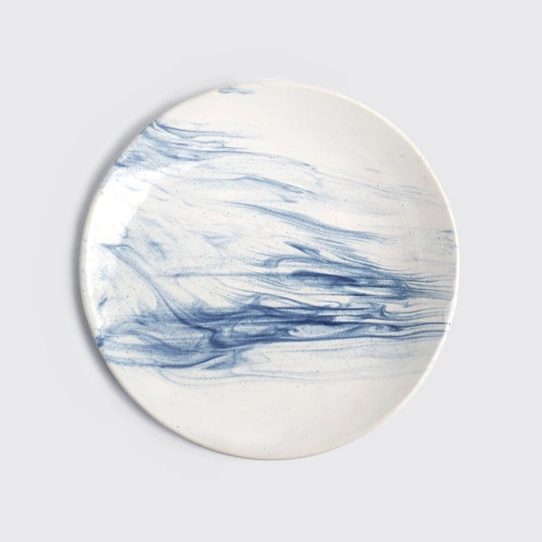 The Confluence Dinner Plate - Indigo