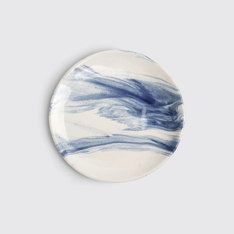 The Confluence Quarter Plate - Indigo