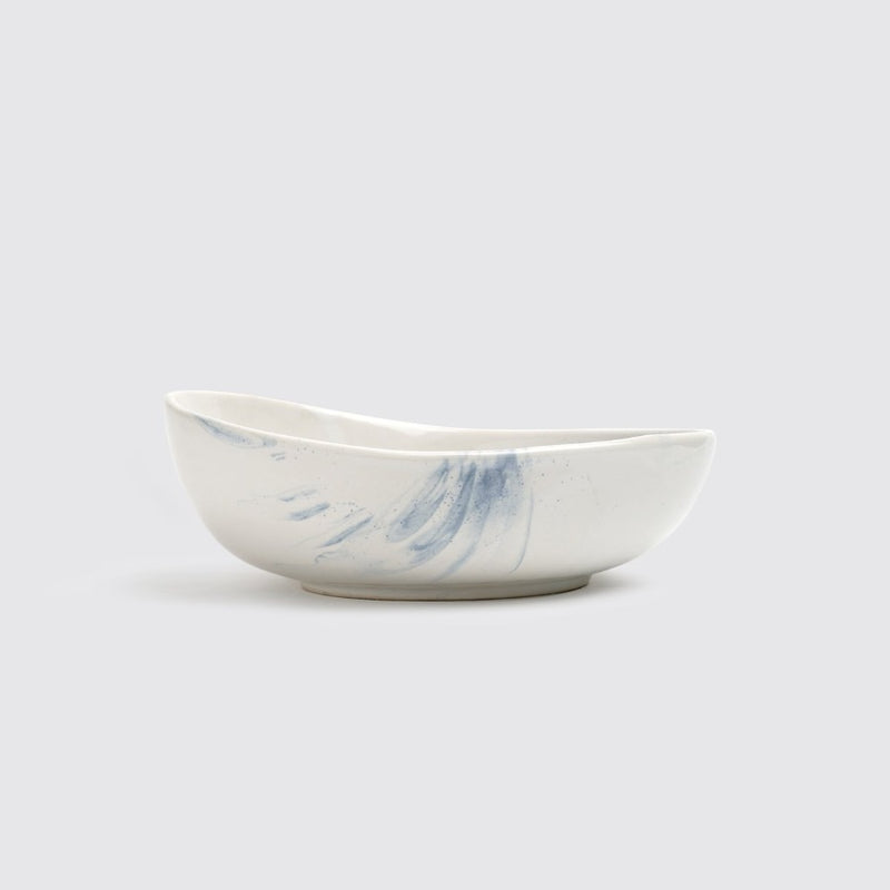 The Confluence Serving Bowl - Indigo