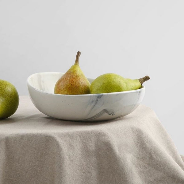 The Confluence Serving Bowl - Monsoon Grey