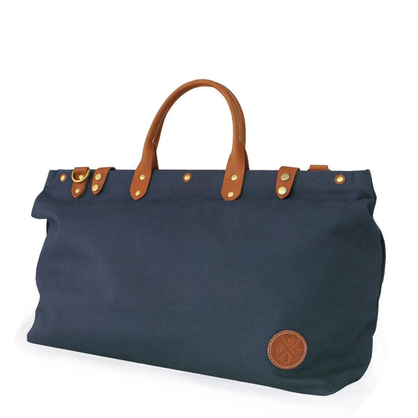 The Daily Duffel - Navy Blue Canvas
