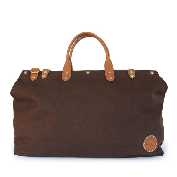 The Daily Duffel - Brown Canvas