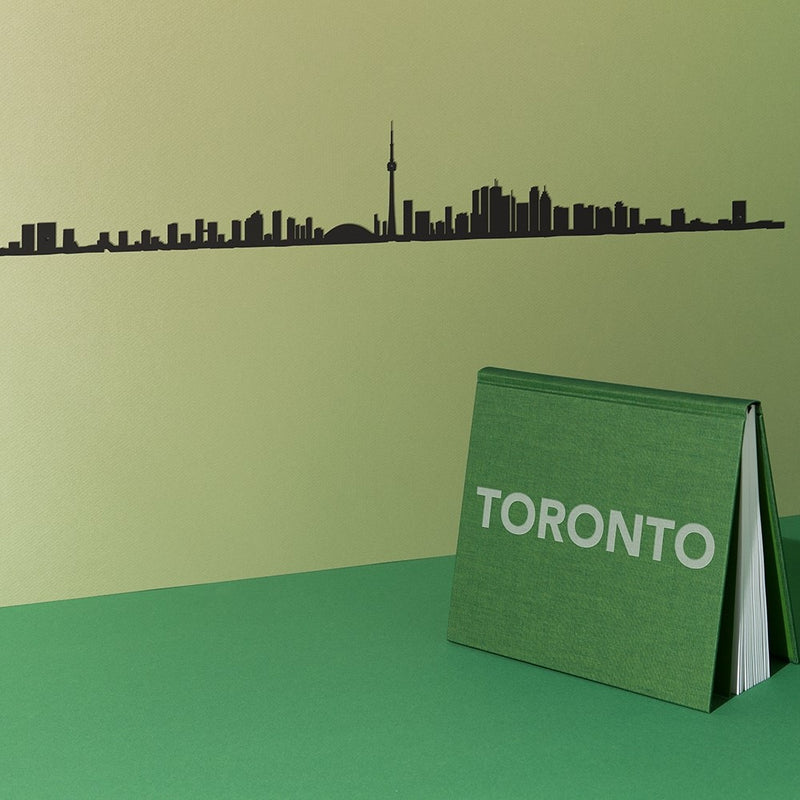 Metal Skyline Wall Decor - Toronto