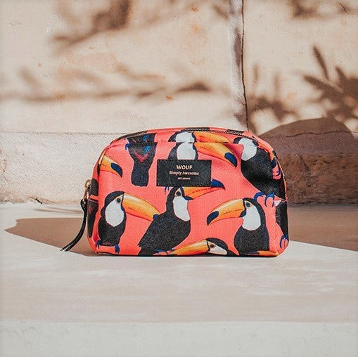 Toco Toucan Large Beauty Bag