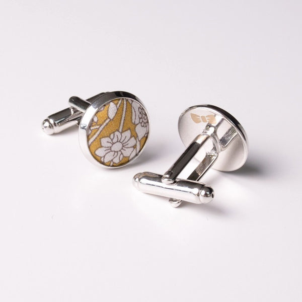 Turmeric Liberty Cufflinks