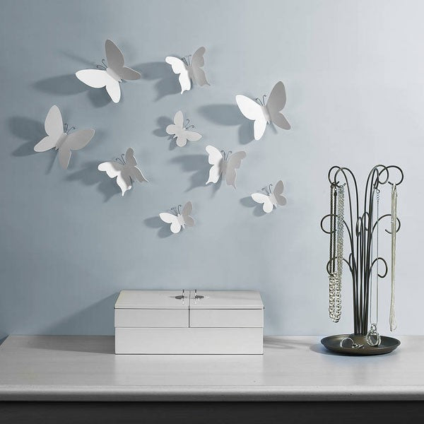 Mariposa Wall Decor - White