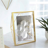 Prisma Photo Frame - Brass 8x10