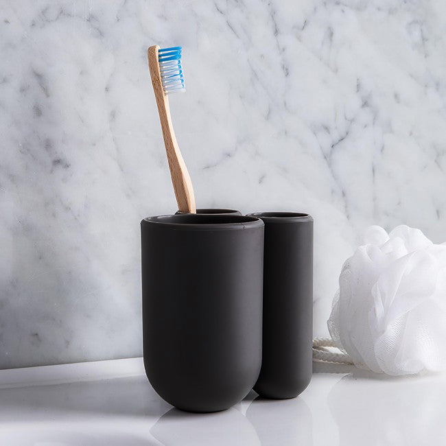 Touch Toothbrush Holder - Black