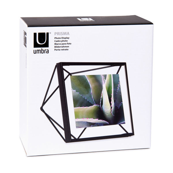Prisma Photo Frame - Black 4x4
