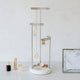 Tesora Jewellery Stand, White Nickel