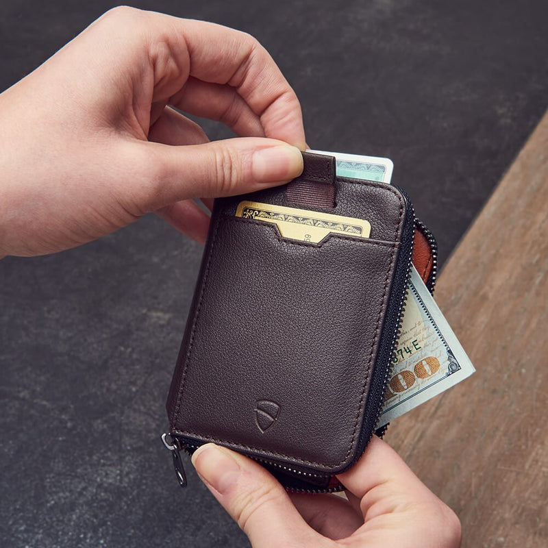 Notting Hill Zip Wallet - Brown RFID