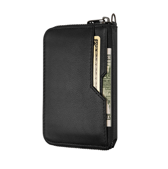 Notting Hill Zip Wallet - Black RFID