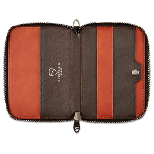 Notting Hill Zip Wallet - Brown RFID – MODERN QUESTS