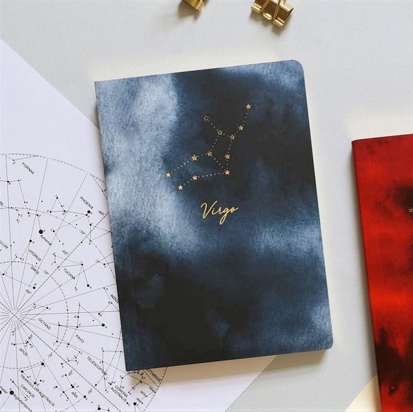 Constellations Mini Notebook - Virgo