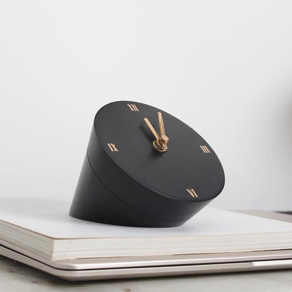 Wedge Table Clock