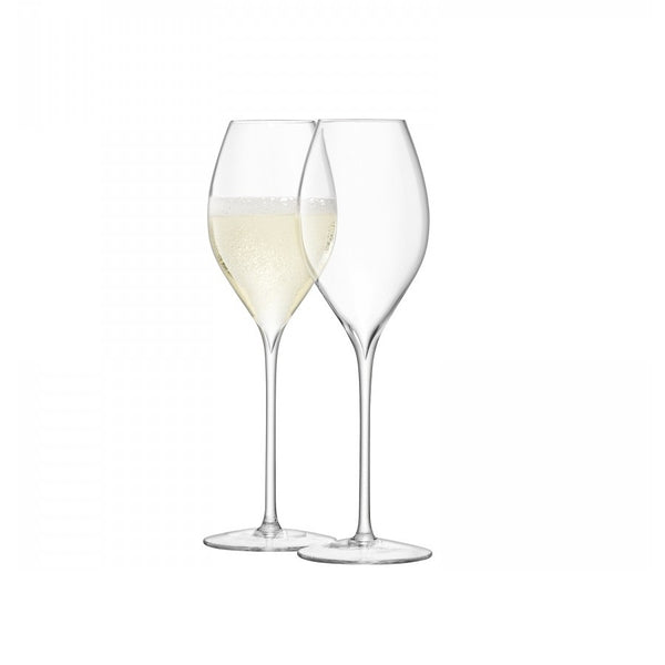 Tulip Champagne Glasses, Set of 2
